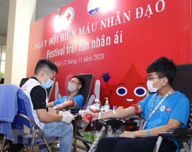 Festival trai tim nhan ai - chung tay khac phuc tinh trang thieu mau hinh anh 1