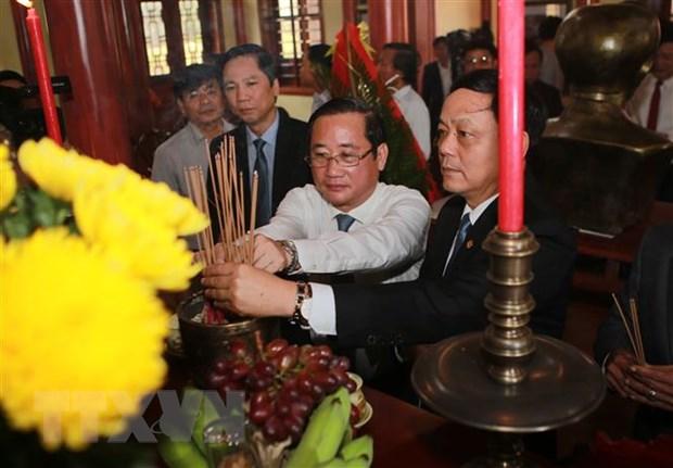 Ky niem 100 nam ngay sinh nha tho Che Lan Vien tai tinh Quang Tri hinh anh 1