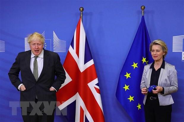 Lanh dao Anh va EU chua tim duoc dot pha trong dam phan Brexit hinh anh 1