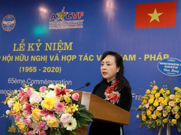 Khong ngung dong gop cho su phat trien cua quan he Viet Nam-Phap hinh anh 1