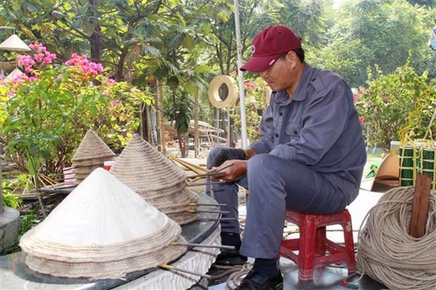 Duong hoa Nguyen Hue 2021 - khong gian trai nghiem dang nho dip Tet hinh anh 2