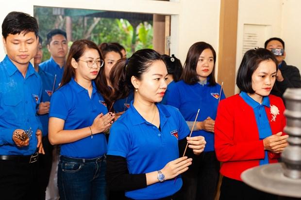 Doan Thanh nien TTXVN trao tang Tu sach Dinh Huu Du tai Ha Tinh hinh anh 5