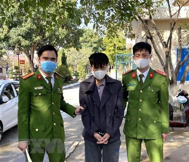 Bat duoc doi tuong trong nhom toi pham ban chet Trung ta Vi Van Luan hinh anh 1