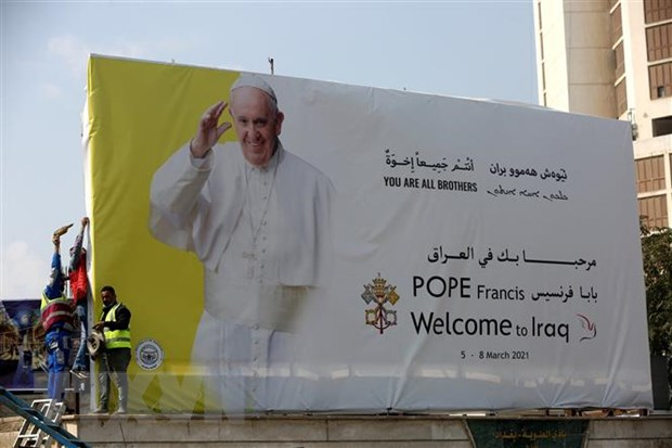 Iran danh gia tich cuc chuyen tham cua Giao hoang Francis toi Iraq hinh anh 1