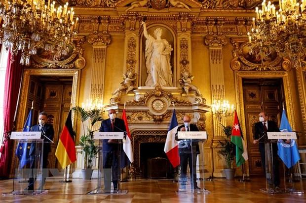 Palestine hoan nghenh no luc cua Nhom Munich to chuc hoi nghi hoa binh hinh anh 1