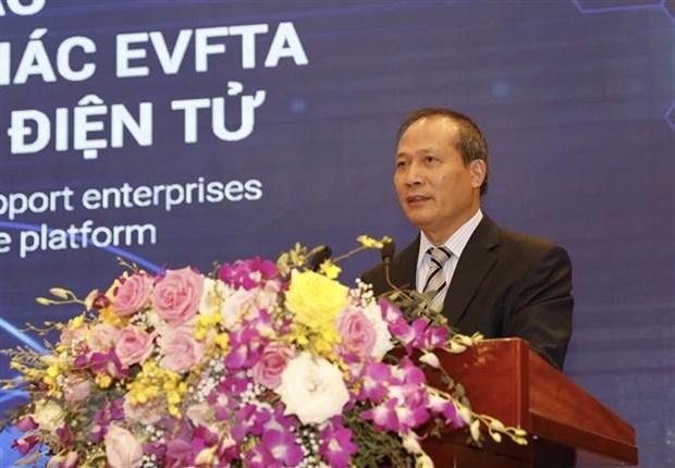 Ho tro doanh nghiep khai thac EVFTA bang nen tang thuong mai dien tu hinh anh 2