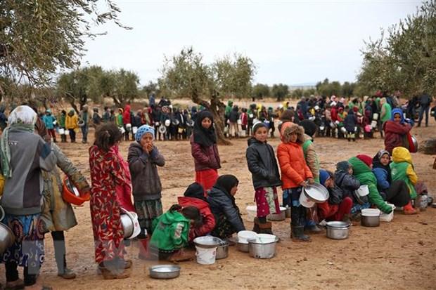 UNICEF lo ngai tinh mang hang trieu tre em tai Tay Bac Syria hinh anh 1