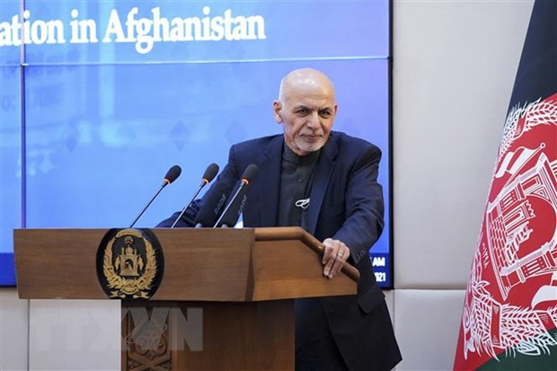 Tong thong Afghanistan Ashraf Ghani tuyen bo chi rut lui sau bau cu hinh anh 1
