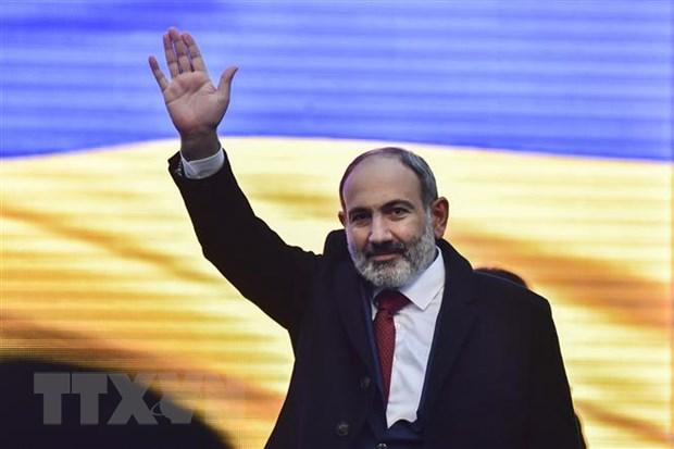 Thu tuong Armenia Nikol Pashinyan neu thoi diem du kien tu chuc hinh anh 1