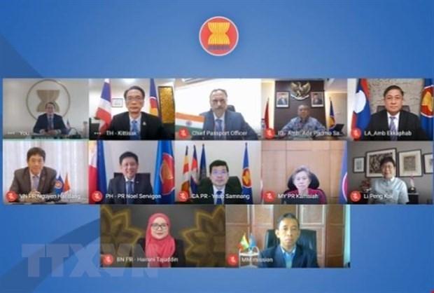 Cuoc hop cua Uy ban hop tac chung ASEAN-An Do lan thu 21 hinh anh 1