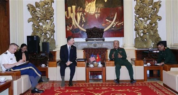 Viet Nam-Hoa Ky day manh hop tac khac phuc hau qua chien tranh hinh anh 1