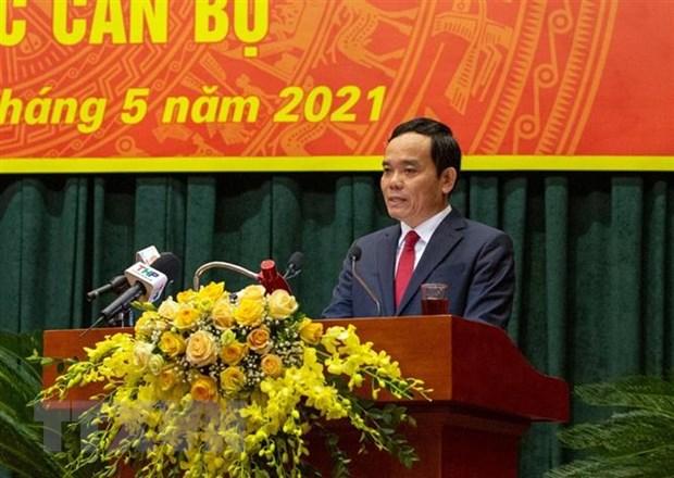 Ong Tran Luu Quang lam Bi thu Thanh uy Hai Phong nhiem ky 2020-2025 hinh anh 1