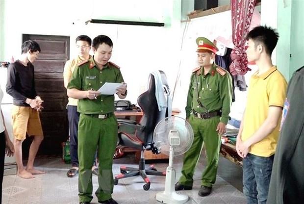 Quang Binh: Triet pha thanh cong duong day danh bac tien ty qua mang hinh anh 1