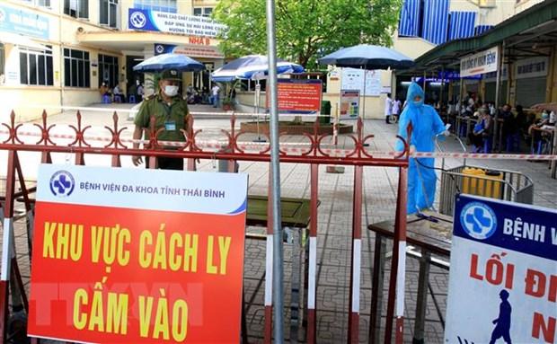 Thuc hu thong tin co 14 ca duong tinh tai Benh vien Da khoa Thai Binh hinh anh 1