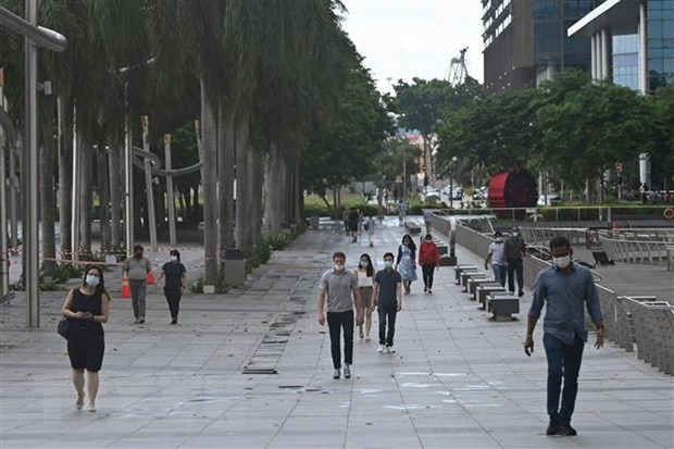 COVID-19 o Dong Nam A: Singapore co so ca mac cao nhat ke tu thang 1 hinh anh 1