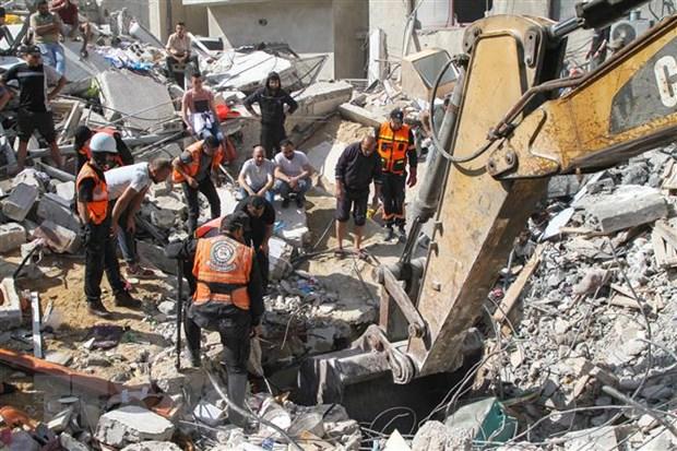 Xung dot Israel-Palestine: Nhieu nuoc keu goi giam cang thang Dai Gaza hinh anh 1