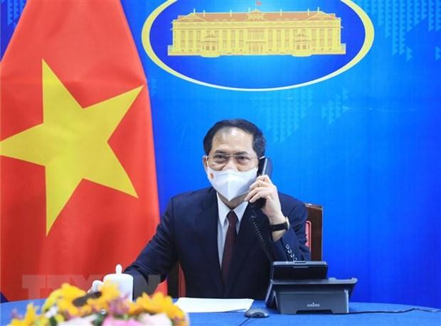 Quan he Viet Nam-Hoa Ky dang phat trien tich cuc trong nhieu linh vuc hinh anh 1