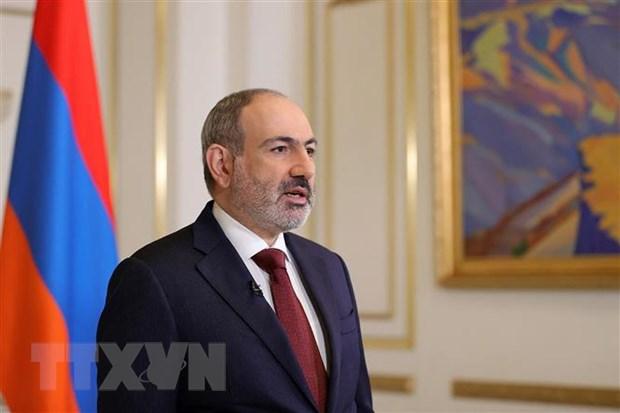 Armenia tuyen bo san sang rut quan khoi bien gioi voi Azerbaijan hinh anh 1