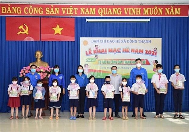 Thanh pho Ho Chi Minh ho tro tre em co hoan canh kho khan hinh anh 1