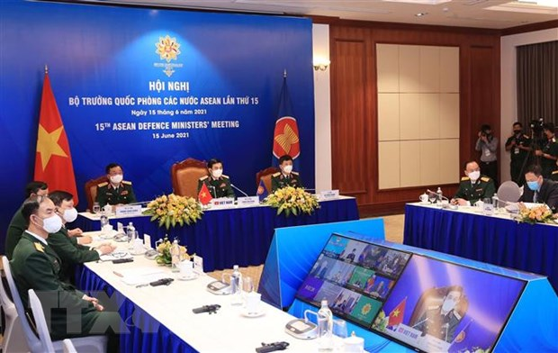 Hoi nghi truc tuyen Bo truong Quoc phong cac nuoc ASEAN lan thu 15 hinh anh 2