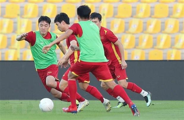 HLV Park Hang-seo chot danh sach 23 cau thu tham gia tran Viet Nam-UAE hinh anh 1