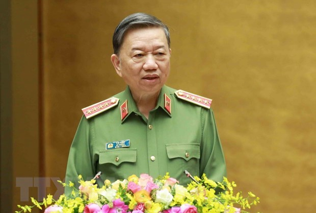 Bo Cong an Viet Nam thuc day hop tac voi co quan huu quan Indonesia hinh anh 1