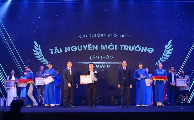 Bo Tai nguyen va Moi truong vinh danh phong vien cua VietnamPlus hinh anh 1