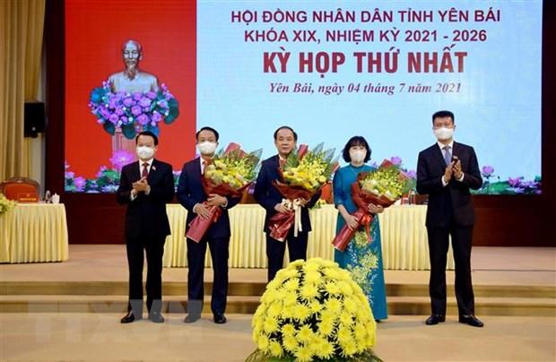 Yen Bai bau cac chuc danh chu chot HDND, UBND nhiem ky 2021-2026 hinh anh 1