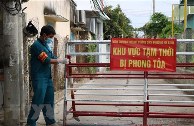 Ninh Thuan: Phat phieu di cho cho nguoi dan de phong, chong dich hinh anh 1
