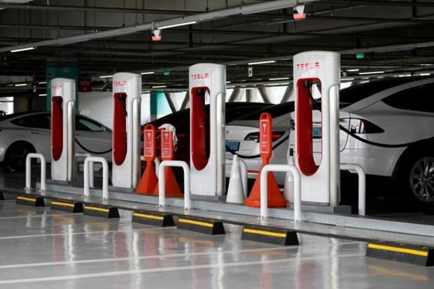 Tesla co ke hoach mo mang luoi tram sac cho cac xe dien khac hinh anh 1