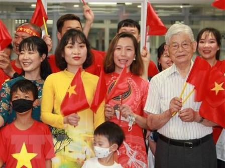 Nguoi Viet o Nhat Ban hao huc don cho Olympic Tokyo 2020 hinh anh 1