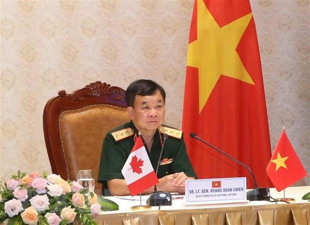 Doi thoai Chinh sach Quoc phong Viet Nam-Canada lan thu nhat hinh anh 1