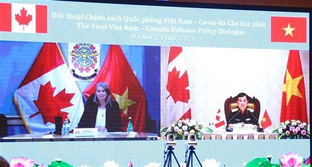 Doi thoai Chinh sach Quoc phong Viet Nam-Canada lan thu nhat hinh anh 2
