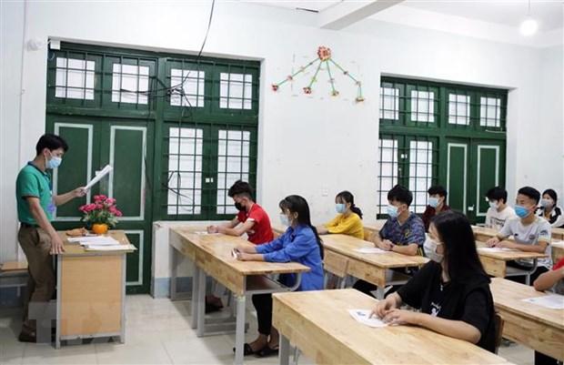 Tot nghiep THPT 2021: Dieu chinh viec day hoc de nang cao chat luong hinh anh 2