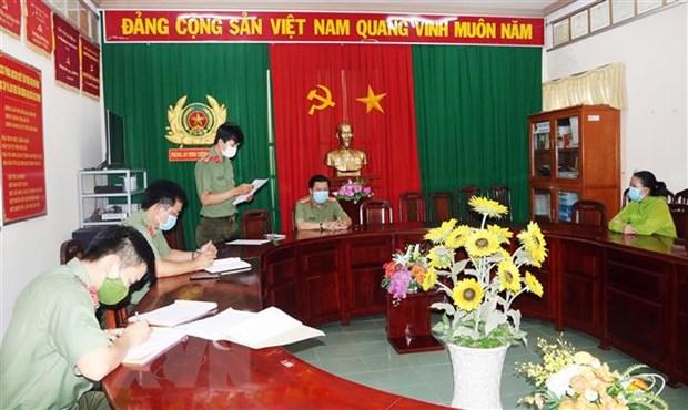 Vinh Long xu phat nguoi dang tin sai su that ve cong tac chong dich hinh anh 1