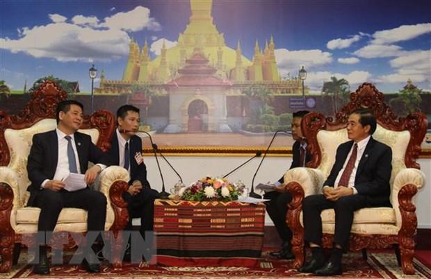Som ky ket Hiep dinh sua doi Hiep dinh Thuong mai Viet Nam-Lao hinh anh 1