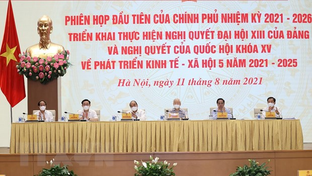 Toan canh phien hop toan the dau tien cua Chinh phu khoa XV hinh anh 1