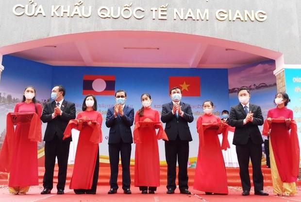 Quang Nam: Khai truong cap cua khau quoc te Nam Giang-Dac Ta Ooc hinh anh 1