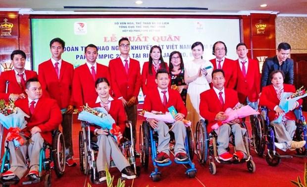 Doan Viet Nam san sang tranh tai tai Paralympic Tokyo 2020 hinh anh 1