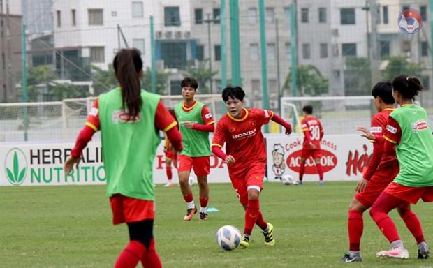 Tuyen nu Viet Nam co 3 tran dau Vong loai Asian Cup vao cuoi thang 9 hinh anh 1