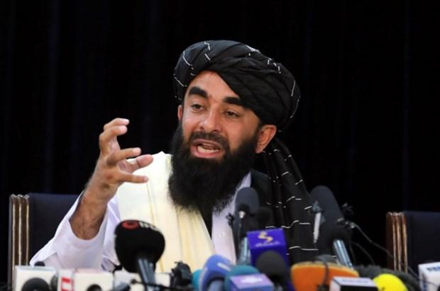 Taliban to chuc cuoc hop bao dau tien sau khi gianh chinh quyen hinh anh 1