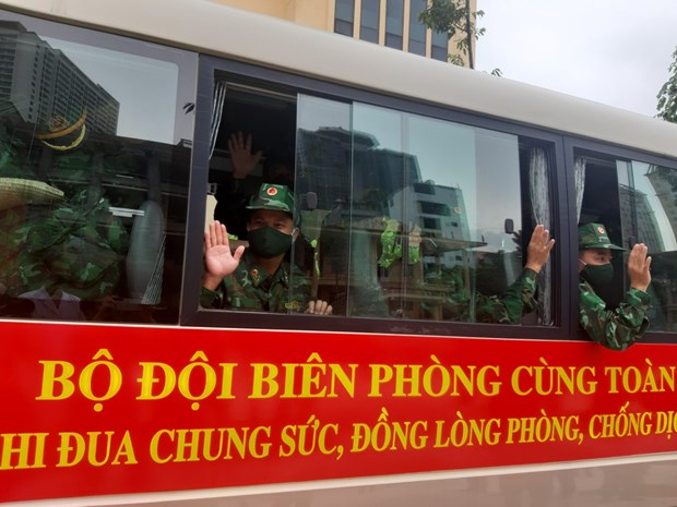 Bo doi Bien phong tang cuong luc luong ho tro cac tinh mien Nam hinh anh 1