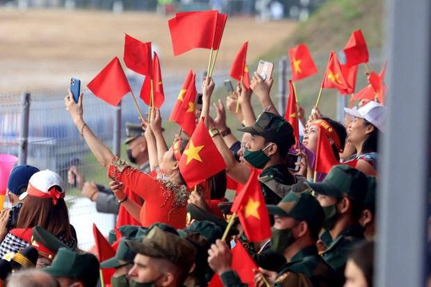 Doi tang Viet Nam hoan thanh tot nhiem vu trong tran dau Army Games hinh anh 2