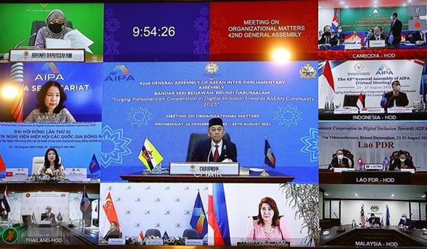 De xuat thiet lap cac co che doi thoai AIPA-ASEAN, AIPA-EP hinh anh 1