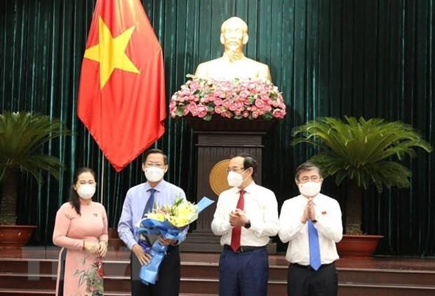 Phe chuan ket qua bau ong Phan Van Mai lam Chu tich UBND TP.HCM hinh anh 1