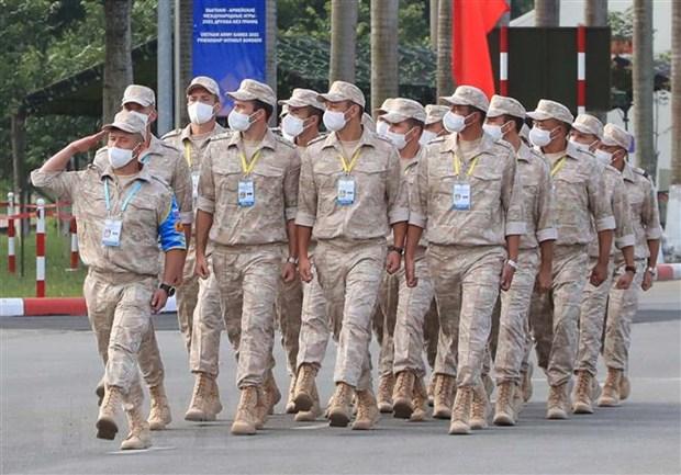 Army Games 2021: Khai mac Cuoc thi 'Xa thu ban tia' va 'Vung tai nan' hinh anh 2