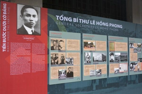 Tong Bi thu Le Hong Phong - nguoi con uu tu cua dan toc Viet Nam hinh anh 1