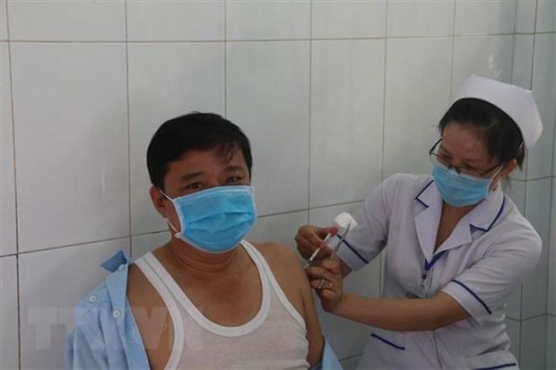 Tu 13/9, Tien Giang trien khai tiem vaccine phong COVID-19 dien rong hinh anh 1