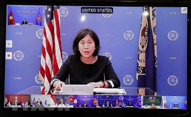 Cac hoi nghi tham van cap Bo truong Kinh te ASEAN va cac nuoc doi tac hinh anh 2