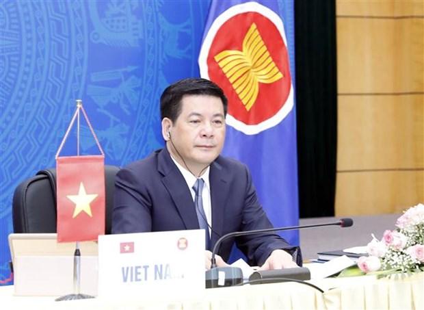 Cac hoi nghi tham van cap Bo truong Kinh te ASEAN va cac nuoc doi tac hinh anh 1
